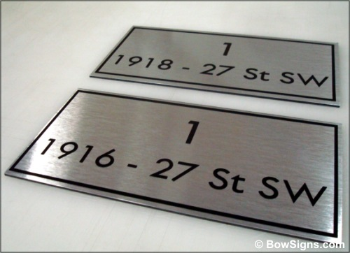 Calgary Engraving Custom Signs