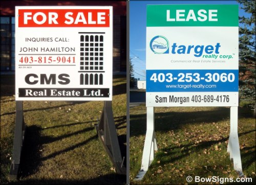 Property For Sale Sign Maker Calgary Alberta