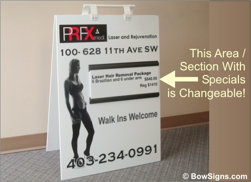Calgary Sandwich Boards Custom Made Great For Promotions