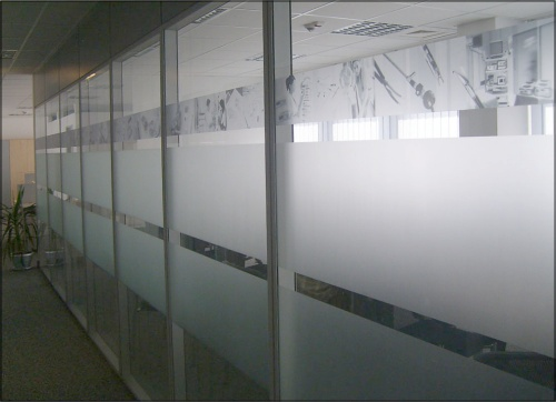 Office Window Frosting Services Calgary Alberta