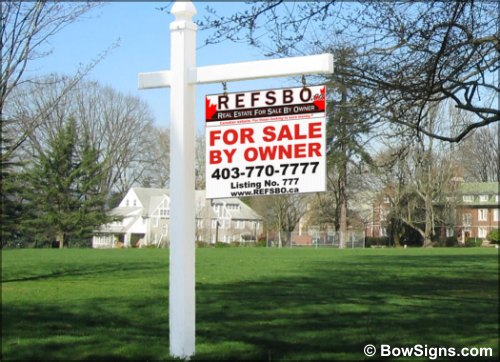 Calgary Real Estate Signs Supplier For Residential And