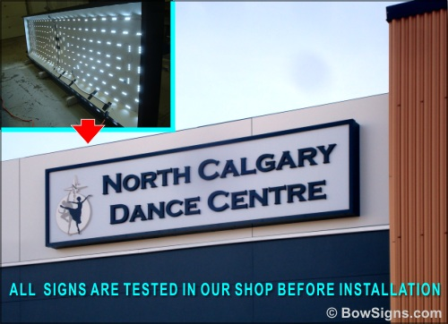 Signage manufacturing and installation Calgary