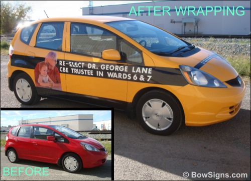 Vehicle Wraps Calgary